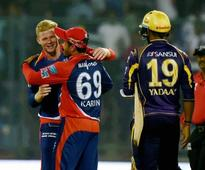Cricket IPL: Daredevils ease to victory over Knight Riders