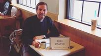 TODD STARNES  Pastor's free prayers  a hit at coffee houses
