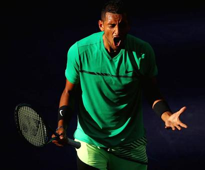 PHOTOS: Kyrgios stuns Djokovic again, Federer thrashes Nadal