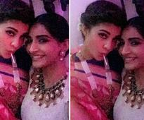 Spotted: Sonam Kapoor and Jacqueline Fernandez strike a pose for a Diwali selfie