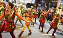 Hong Kong holds parade to celebrate Chinese Lunar New Year