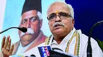 Suresh Bhaiyyaji Joshi re-elected as General Secretary of RSS for 3 years
