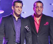 Salman and Sanjay not on talking terms?