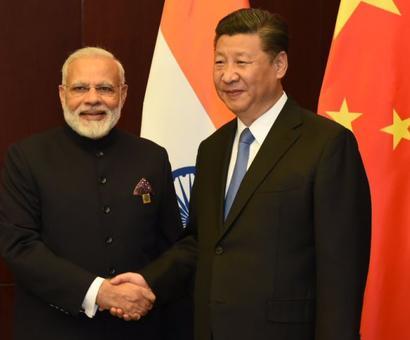 Modi congratulates Xi, hopes to promote India-China ties