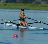 Sport First SA woman to win a medal at the U-23 world championship