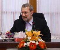 Palestinian speaker, political leaders congratulate Larijani on reelection