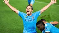 Frank Lampard has gone from New York City FC outcast to MVP candidate
