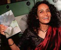 Arundhati Roy hits out at dominant caste in India