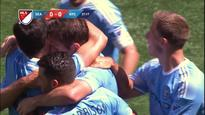 Frank Lampard nets a controversial goal for New York City