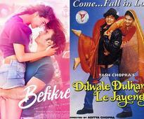 5 things that set Ranveer Singh and Vaani Kapoor's Befikre apart from Shah Rukh Khan's Dilwale Dulhania Le Jayenge
