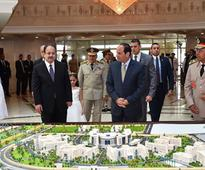 Sisi attends inauguration of new interior ministry HQ in New Cairo