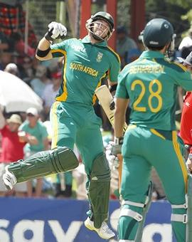 Ingram century propels South Africa to easy win