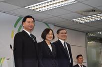 Team Tsai takes shape in Taiwan