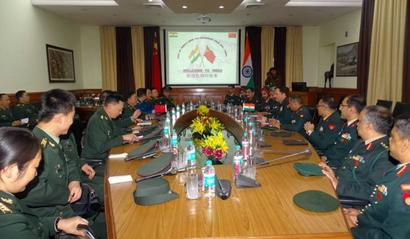 Chinese PLA delegation holds talks with army officials