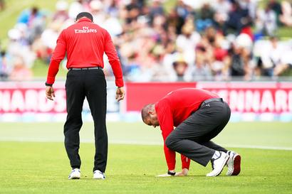 Napier ODI called off due to unsafe outfield