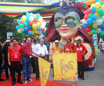 In pix: The stories behind the colourful floats of Goa carnival