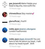 Blogger Noble Igwe wore bum shorts and Nigerians are freaking out