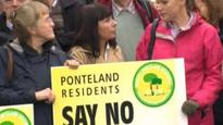 Green-belt garden village plan revealed