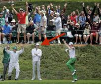 Bubba Watson didn't smile after hole-in-one
