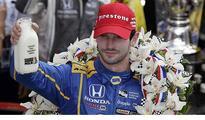 Indy 500 champion Alexander Rossi...
