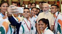 PM Modi congratulates Indian contingent for giving their best at Rio 2016