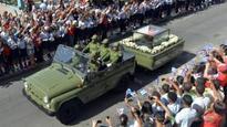 Castro's ashes arrive in Santiago after journey across Cuba