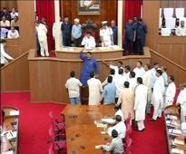 Assembly stalled amid ruckus over Mahanadi