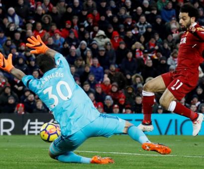 EPL: Record-breaker Salah hits four as Liverpool crush Watford
