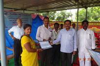 Gangavaram Port distributes free sewing machines and certificates to women