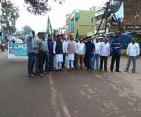 Odisha Ruling BJD members stage hartal in 7 southern districts over Polavaram issue