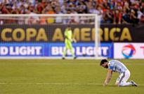Messi retires from international