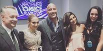 Oh Nothing, Just Priyanka Chopra Hanging Out With Hollywood Royalty Tom Hanks, J Lo, & The Rock
