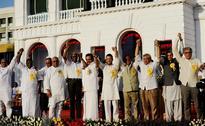 Oppn unites during 94th birthday celebrations of DMK President M Karunanidhi