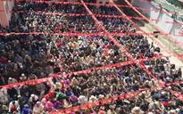 National Conference president Farooq Abdullah files nomination for Srinagar Lok Sabha seat