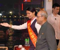 Pranab emphasises economic and cultural ties with China