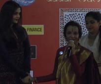 Aishwarya gets emotional as she reunites with her childhood dance guru