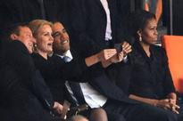 How a Photo With Barack Obama and David Cameron Made Denmark's Former Prime Minister a Selfie Queen