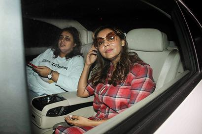 PIX: Gauri Khan, Karan Johar visit Ranbir's new home