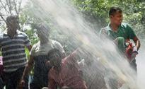 BJP, Congress Stage Protest Outside Arvind Kejriwal's Residence