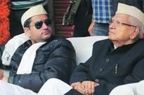Congress Leader ND Tiwari seeking a BJP ticket for son Rohit Shekhar