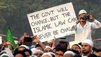 Muslims rally against govt over triple talaq, uniform civil code issues
