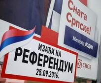 Bosnian Serbs to hold a disputed vote amid ethnic tensions