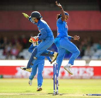 PHOTOS: Mithali, Shikha star as India beat SA by 54 runs to win T20I series 3-1