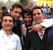 Watch: Ranveer Singh and Akshay Kumar bring the house down at a wedding in Hyderabad
