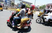 MVD relaxes 'no helmet no petrol' rule, to give advice to helmetless motorists