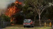Third bushfire 'deliberately lit' in less than a week: police
