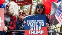 'Stop Trump' campaign bus tours London