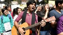 Ramjas ruckus: DU students, professors take out rally against ABVP, Gurmehar stays out