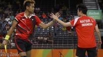 Indonesian pair win badminton mixed doubles