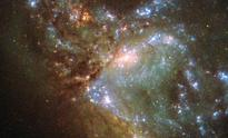 Hubble clicks two galaxies merging for the first time